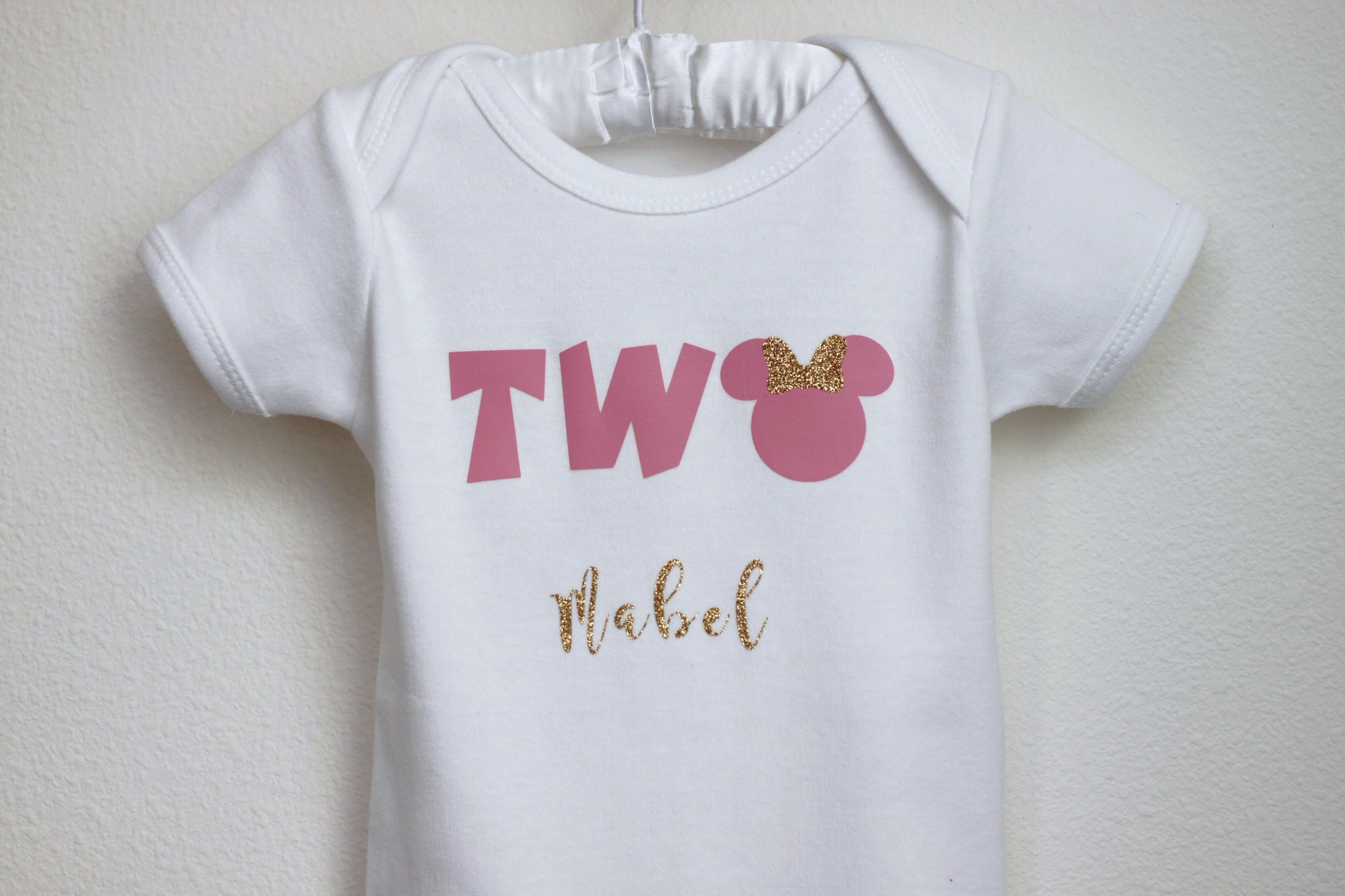 Oh Two-dles birthday shirt