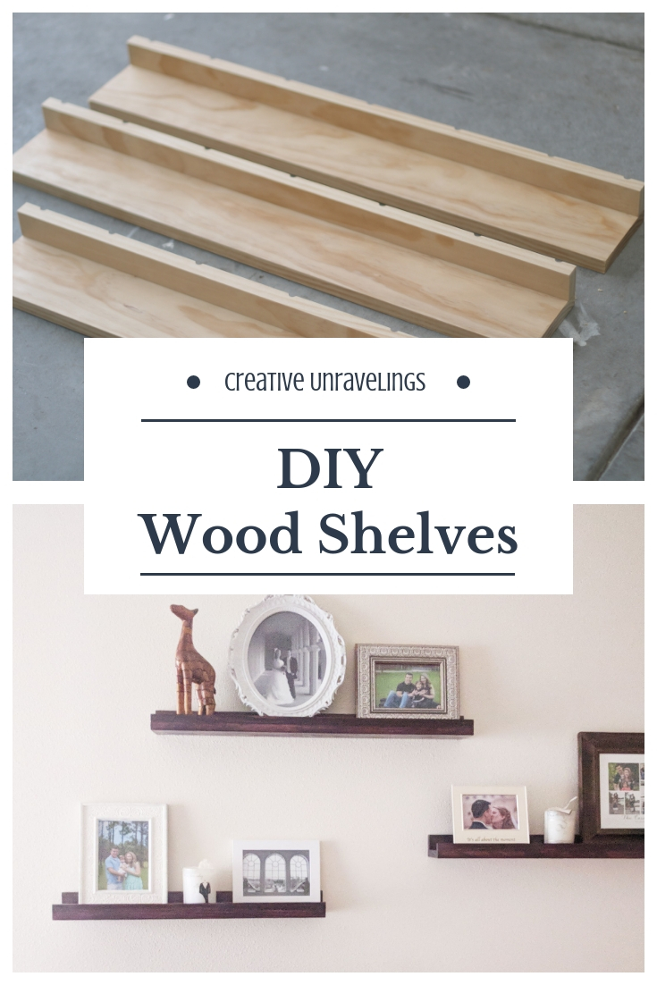 DIY Picture Frame Shelves | Creative Unravelings