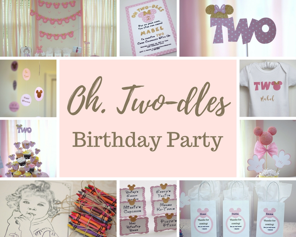 Oh, Two-dles birthday theme