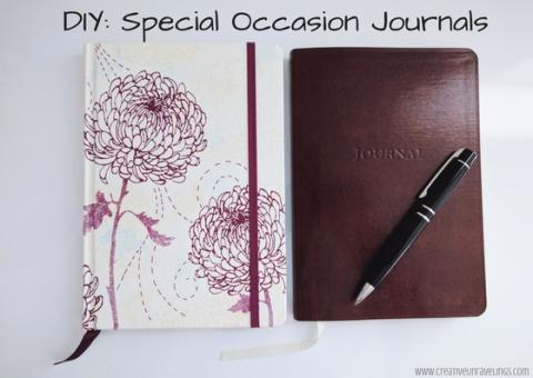 Special Occasion Journals