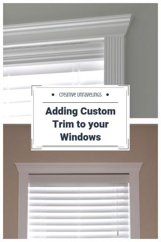 Adding custom trim to windows