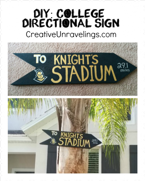 UCF Sign