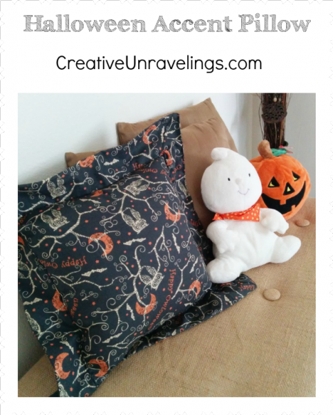 Halloween Accent Pillow