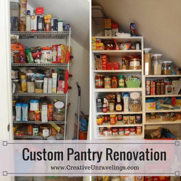 Custom Pantry Renovation(1)