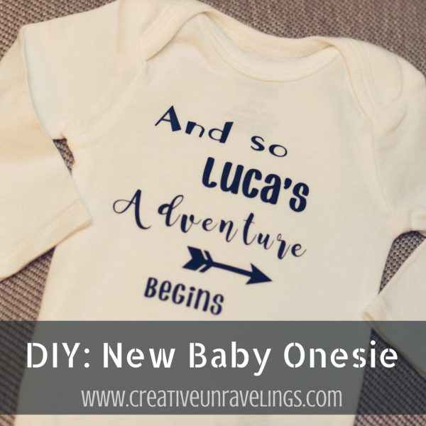 DIY_ New Baby Onesie