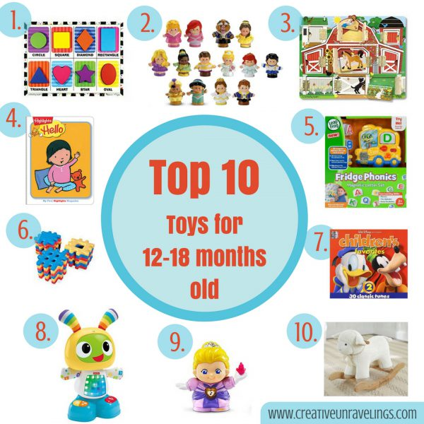 12 To 18 Month Toys : Top toys months old creative unravelings